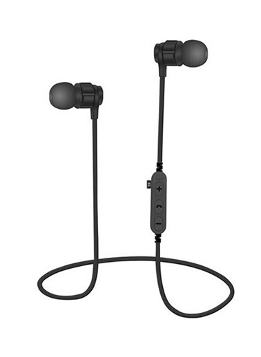 Bludfire MS-T8 Bluetooth Mikrofonlu MP3 Spor Kulaklık Siyah